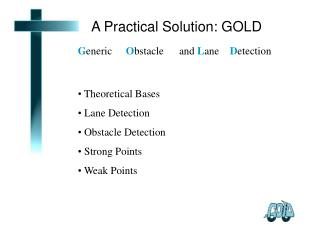 A Practical Solution: GOLD