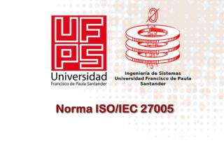 Norma ISO/IEC 27005