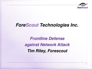 Fore Scout  Technologies Inc.