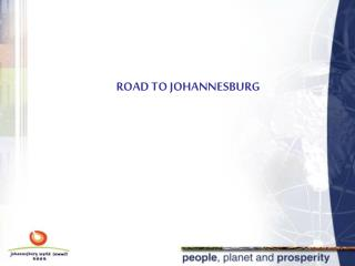 ROAD TO JOHANNESBURG