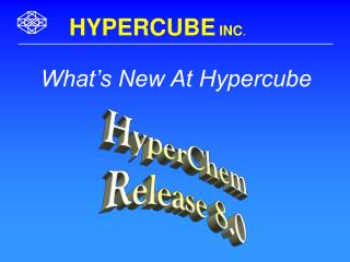 What's New At Hypercube