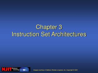 Chapter 3 Instruction Set Architectures