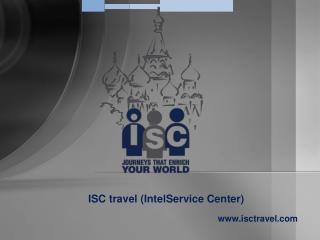 ISC travel (IntelService Center) isctravel
