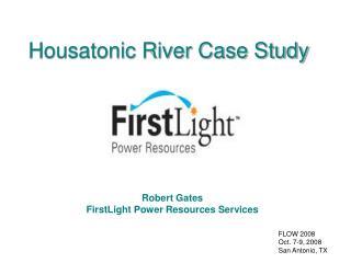 Housatonic River Case Study