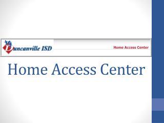 Home Access Center