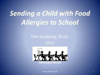 Sending a Child with Food Allergies to School