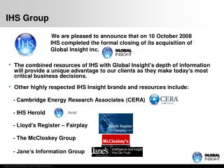 IHS Group