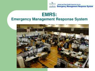 EMRS:  Emergency Management Response System