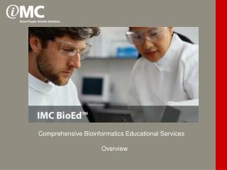 Comprehensive Bioinformatics Educational Services