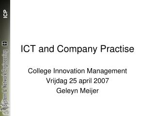 ICT and Company Practise