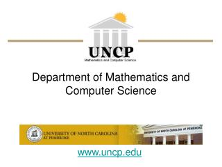 Department of Mathematics and Computer Science