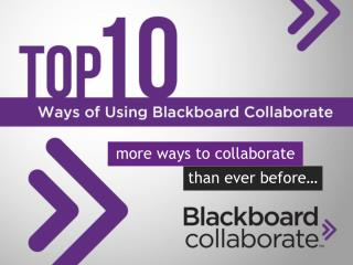 m ore ways to collaborate