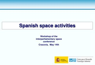 Spanish space activities