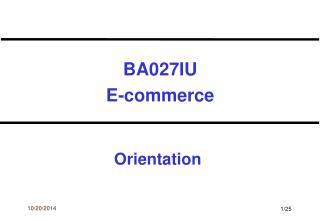 BA027IU E-commerce