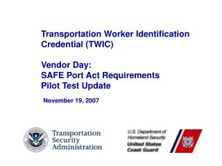 November 19, 2007