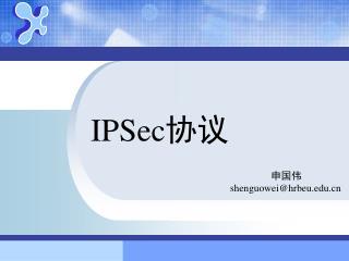 IPSec 协议