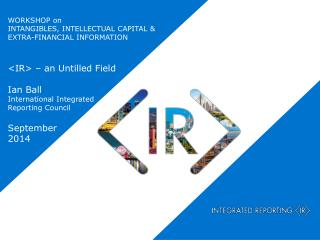 WORKSHOP on  INTANGIBLES, INTELLECTUAL CAPITAL & EXTRA-FINANCIAL INFORMATION