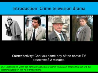 Introduction: Crime television drama