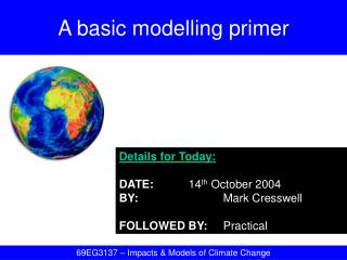 A basic modelling primer