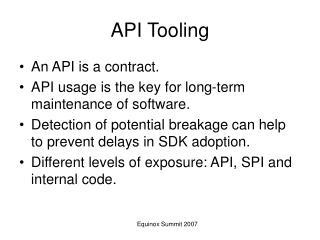 API Tooling