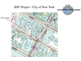 BIN Project : City of New York