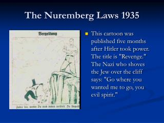 The Nuremberg Laws 1935