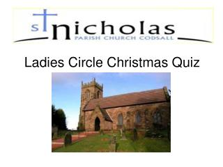 Ladies Circle Christmas Quiz