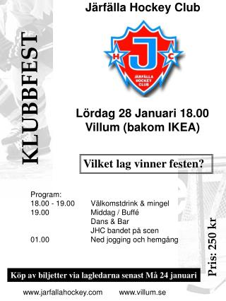 Järfälla Hockey Club