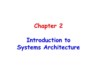 Chapter 2  Introduction to  Computer User Support