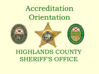 Accreditation Orientation