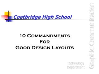 Coatbridge High School