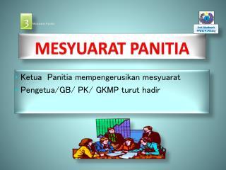 MESYUARAT PANITIA