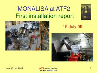 MONALISA at ATF2 First installation report