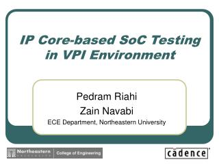 IP Core-based SoC Testing in VPI Environment