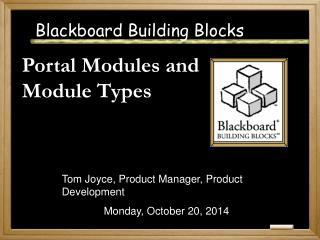 Blackboard Building Blocks