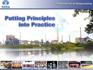 Jamsetji Tata:  Principles