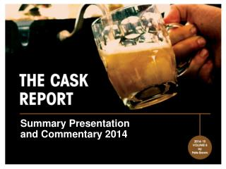 Summary Presentation and Commentary 2014