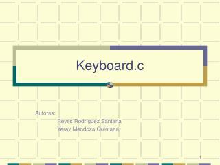 Keyboard.c