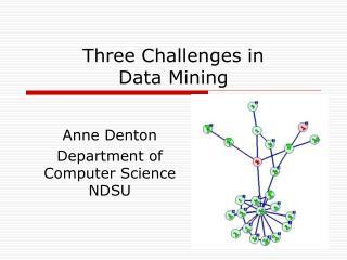 Three Challenges in  Data Mining