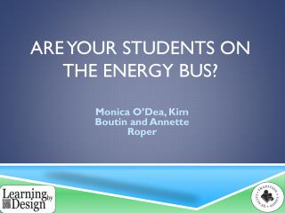 Are your students on the energy bus?