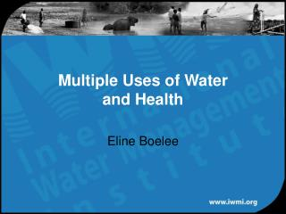 Multiple Uses of Water and Health