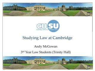 Studying Law at Cambridge