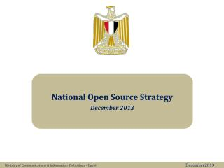 National Open Source Strategy December 2013