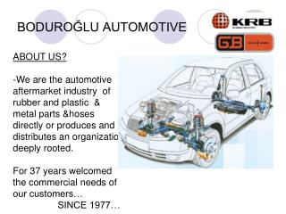 BODUROĞLU AUTOMOTIVE
