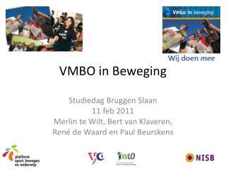 VMBO in Beweging