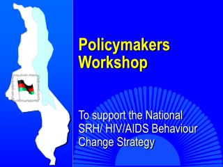 Policymakers Workshop