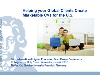 10th International Higher Education Dual Career Conference