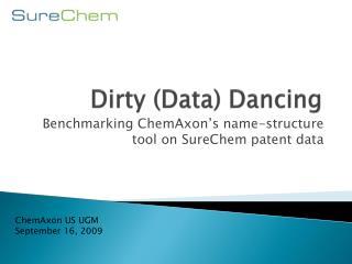 Dirty (Data) Dancing