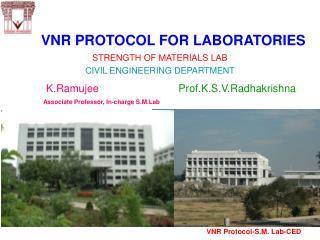 VNR PROTOCOL FOR LABORATORIES