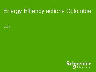 Energy Effiency actions Colombia